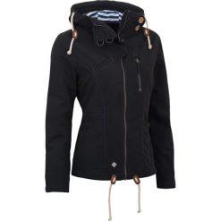 Kurtki sportowe damskie: Woox Kurtka damska Drizzle Jacket Ladies´ Dark Czarna r. 34