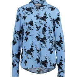 Koszule wiązane damskie: Samsøe & Samsøe MILLY Koszula blue bloom
