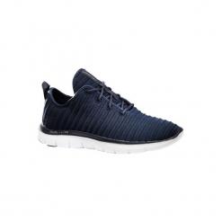 Buty damskie do szybkiego marszu Flex Appeal w kolorze niebieskim. Niebieskie buty do fitnessu damskie marki DOMYOS, z gumy. W wyprzedaży za 179,99 zł.