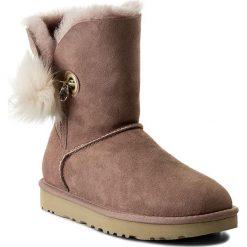Buty UGG - W Irina 1017502 W/Dus. Czerwone buty zimowe damskie Ugg, ze skóry. Za 1159,00 zł.