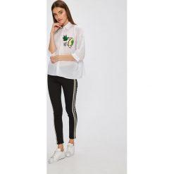 Miss Poem - Koszula. Białe koszule damskie marki Miss Poem, l, z aplikacjami, z bawełny, casualowe, z klasycznym kołnierzykiem, z długim rękawem. W wyprzedaży za 49,90 zł.