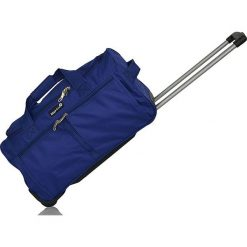 """Walizki: Walizka """"Francfort"""" w kolorze niebieskim – 32,5 kg x 62 x 32 cm"""