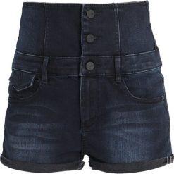 Bermudy damskie: Miss Sixty HAL Szorty jeansowe blue black denim