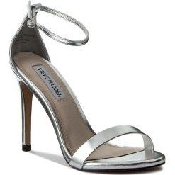 Sandały damskie: Sandały STEVE MADDEN – Stecy Sandal 91000080-0W0-07004-14010 Silver Metallic