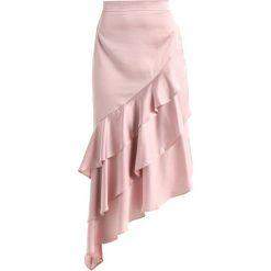 Długie spódnice: True Violet ASYMMETRIC FRILL DETAIL SKIRT Długa spódnica blush