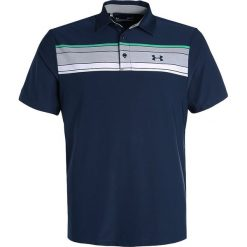 Under Armour PLAYOFF POLO Koszulka sportowa academy. Niebieskie koszulki sportowe męskie Under Armour, m, z elastanu. W wyprzedaży za 160,30 zł.