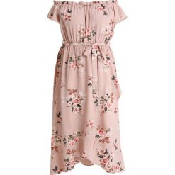 Długie sukienki: City Chic DRESS ROSE PLAY Długa sukienka rose