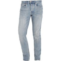 Topman BLEACH CLOUD  Jeansy Slim Fit blue. Niebieskie rurki męskie Topman. W wyprzedaży za 126,75 zł.
