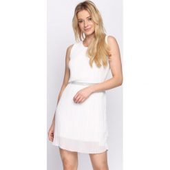 Sukienki: Biała Sukienka Winter Cherry