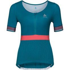 Odlo Koszulka damska Stand-up Collar Ceramicool X-Light zielona r. L. T-shirty damskie Odlo, l. Za 220,06 zł.
