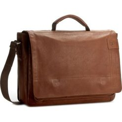 Torba na laptopa STRELLSON - Upminister BriefBag MHF 4010001923 Cognac 703. Brązowe plecaki męskie Strellson, ze skóry. W wyprzedaży za 899,00 zł.