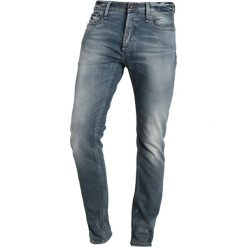 Denham RAZOR Jeansy Slim Fit blue denim. Niebieskie jeansy męskie relaxed fit marki Criminal Damage. Za 839,00 zł.