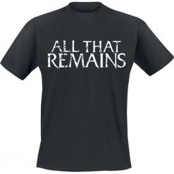 All That Remains Logo T-Shirt czarny. Czarne t-shirty męskie All That Remains, l. Za 74,90 zł.