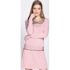 Różowa Sukienka Shiny. Czerwone sukienki hiszpanki Born2be, l, mini. Za 49,99 zł.
