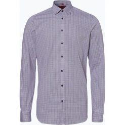 Finshley & Harding - Koszula męska łatwa w prasowaniu, czerwony. Czarne koszule męskie na spinki marki Finshley & Harding, w kratkę. Za 89,95 zł.