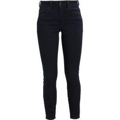 GStar Jeans Skinny Fit rinsed. Czarne jeansy damskie marki G-Star, z bawełny. W wyprzedaży za 395,85 zł.