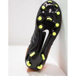 Buty sportowe chłopięce: Nike Performance TIEMPO LEGEND VII FG Korki Lanki black/white/laser orange/volt