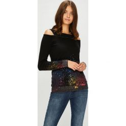 Swetry klasyczne damskie: Desigual - Sweter