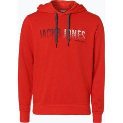 Bejsbolówki męskie: Jack & Jones - Męska bluza nierozpinana, czerwony
