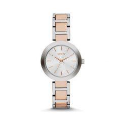 DKNY - Zegarek NY2402. Czarne zegarki damskie marki KALENJI, ze stali. Za 479,90 zł.