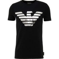 Emporio Armani Tshirt z nadrukiem nero. Czarne t-shirty męskie z nadrukiem Emporio Armani, m, z bawełny. Za 669,00 zł.