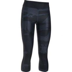 Legginsy sportowe damskie: Under Armour Legginsy damskie Under Armour Capri 3/4 czarne r. M (1302774-008)