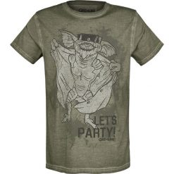 T-shirty męskie: Gremlins Let's Party T-Shirt oliwkowy