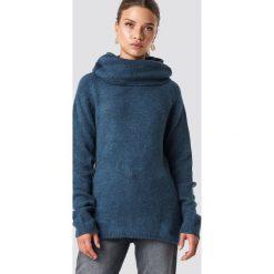 Trendyol Sweter z golfem - Blue,Navy. Niebieskie swetry oversize damskie Trendyol, z materiału. Za 80,95 zł.