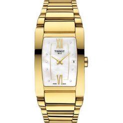 PROMOCJA ZEGAREK TISSOT T - LADY T105.309.33.116.00. Czarne zegarki damskie marki KALENJI, ze stali. W wyprzedaży za 1672,00 zł.