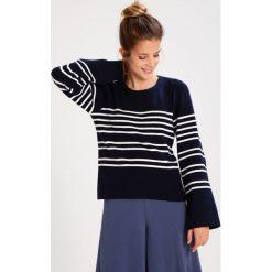 Swetry klasyczne damskie: Topshop Petite BRETON Sweter navyblue