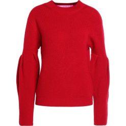 Swetry klasyczne damskie: 81hours Studio RIBBED PUFF SLEEVES Sweter deep red