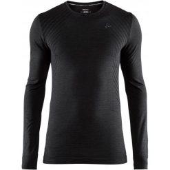 Craft Koszulka Sportowa Męska Fuseknit Comfort Ls Black S. Czarne koszulki turystyczne męskie Craft, m, w paski. Za 135,00 zł.