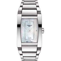 RABAT ZEGAREK TISSOT T - LADY T105.309.11.116.00. Białe zegarki damskie TISSOT, ze stali. W wyprzedaży za 1364,00 zł.