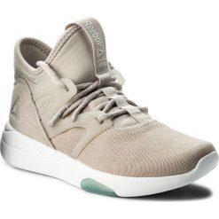 Buty Reebok - Hayasu CN1938 Sandstone/Wht/Teal. Szare buty do fitnessu damskie marki Reebok, z materiału. W wyprzedaży za 279,00 zł.