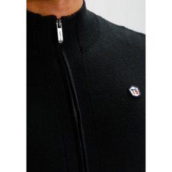 Swetry rozpinane męskie: Teddy Smith GEIRO Kardigan noir