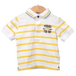 Primigi Koszulka Polo Chłopięca 74 Biały. Białe t-shirty chłopięce Primigi. W wyprzedaży za 65,00 zł.