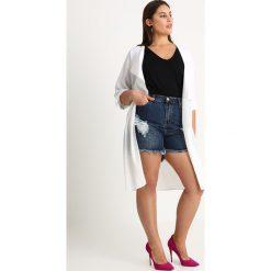 Bermudy damskie: Glamorous Curve ACID WASH  Szorty jeansowe dark indigo