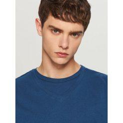T-shirty męskie: Bawełniany t-shirt – Granatowy