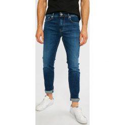 Pepe Jeans - Jeansy Stalney. Niebieskie jeansy męskie z dziurami Pepe Jeans. Za 379,90 zł.