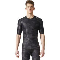 Adidas Koszulka Tech Fit Tee SS CI GX czarna r. L (CD3646). Białe koszulki sportowe męskie marki Adidas, l, z jersey, do piłki nożnej. Za 148,69 zł.