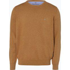 Fynch Hatton - Sweter męski, żółty. Żółte swetry klasyczne męskie Fynch-Hatton, l, z dzianiny. Za 249,95 zł.