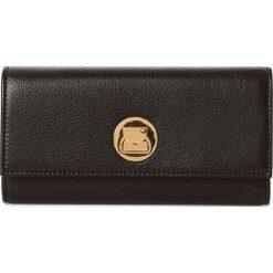 Coccinelle - Damski portfel ze skóry, czarny. Czarne portfele damskie marki Coccinelle. Za 499,95 zł.