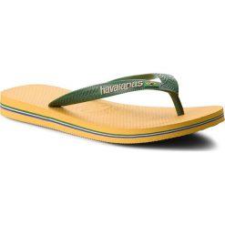 Japonki HAVAIANAS - Brasil Logo 41108501652 Banana Yellow. Zielone crocsy damskie marki Havaianas, z materiału. W wyprzedaży za 89,00 zł.
