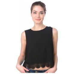 T-shirty damskie: Brave Soul Koszulka Bez Rękawów Damska Napplpka Xs Czarny