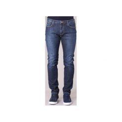 Jeansy slim fit Armani jeans  JARMI. Czarne jeansy męskie relaxed fit marki Armani Jeans, z jeansu. Za 455,20 zł.