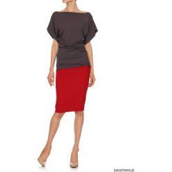 Spódnice wieczorowe: Spódnica czerwona YY600059_RAL3020