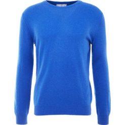Pure cashmere Sweter royal blue. Niebieskie swetry klasyczne męskie pure cashmere, l, z kaszmiru. Za 969,00 zł.