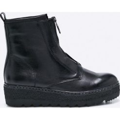 Tamaris - Botki. Szare buty zimowe damskie marki Tamaris, z materiału. W wyprzedaży za 219,90 zł.