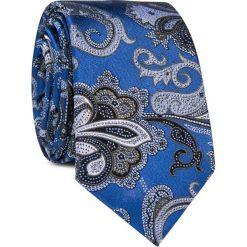Krawaty męskie: Krawat jedwabny KWWR000347