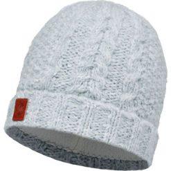 Czapki męskie: Buff Czapka Knitted & Polar Amby Snow biała